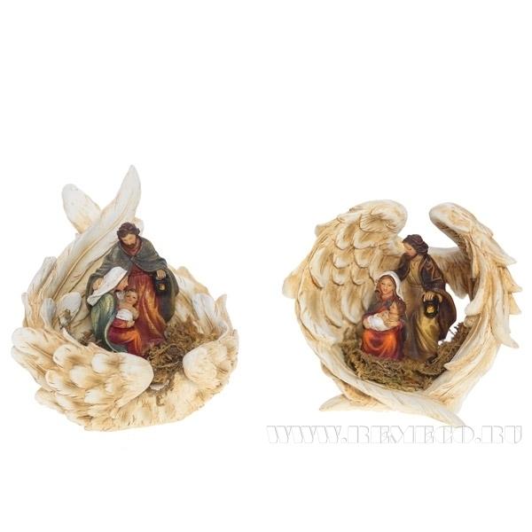 Фигурка декоративная Рождество, 2в., L11 W10 H10 см оптом