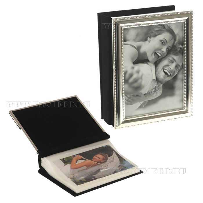 Фотоальбом на 80 фотографий 10х15 см, L 14 см, H 17 см оптом