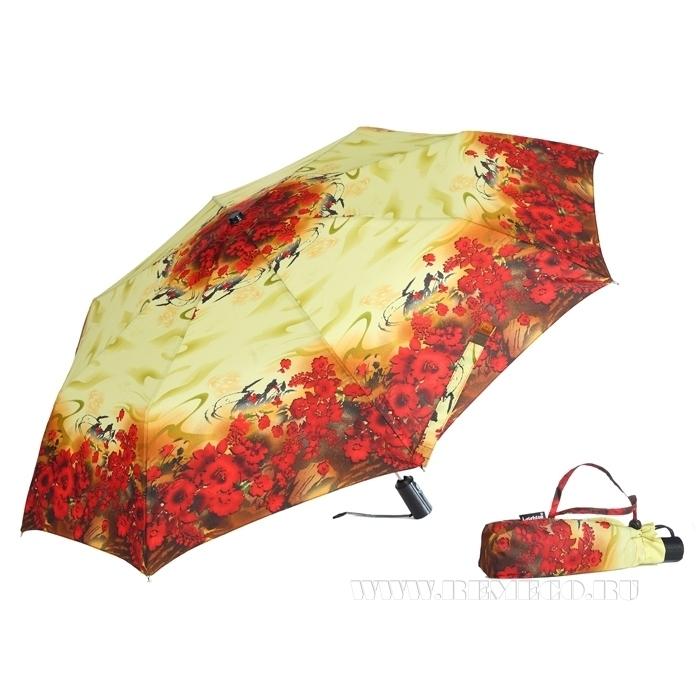 Зонт 23, полный автомат (Лето красное) оптом