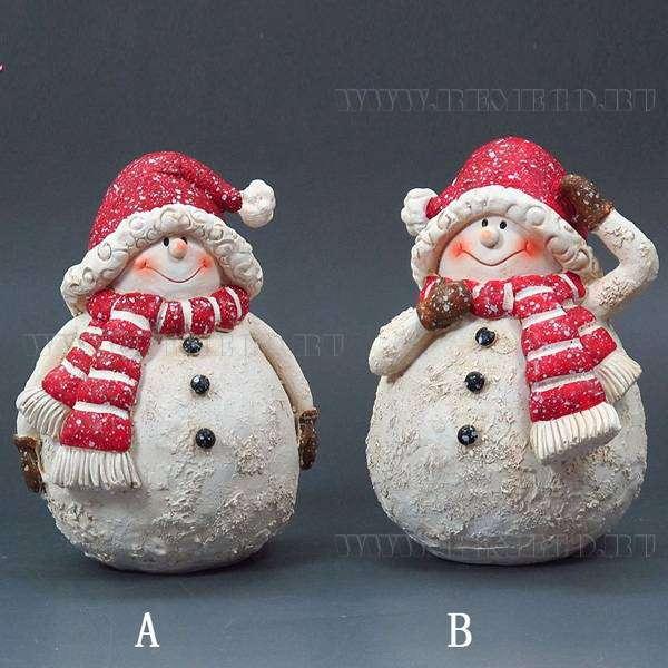 Фигурка снеговика своими руками