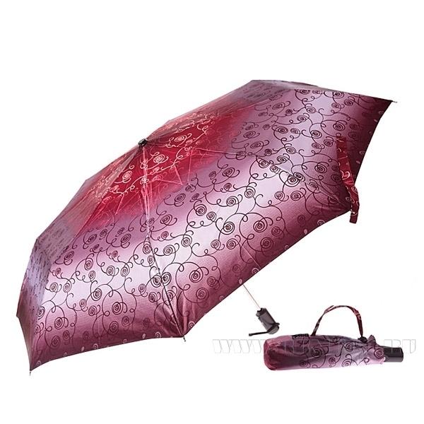 Зонт 23, полный автомат (Атласный, Вензеля) оптом