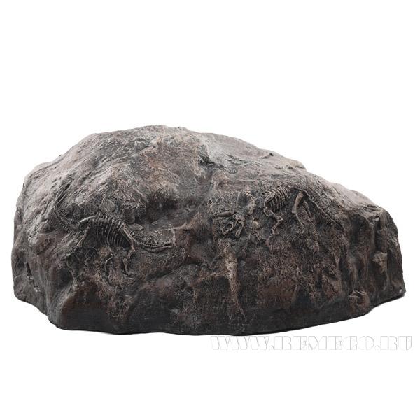 Камень с динозаврами 46*34*20 см оптом