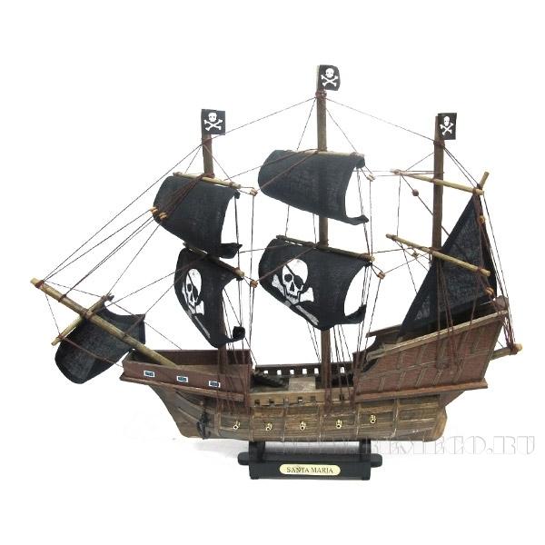 Изделие декоративное Корабль  Santa Maria, L45 см оптом
