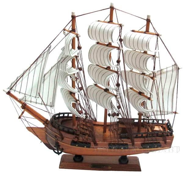 Изделие декоративное Корабль, L33 W7 H32см оптом
