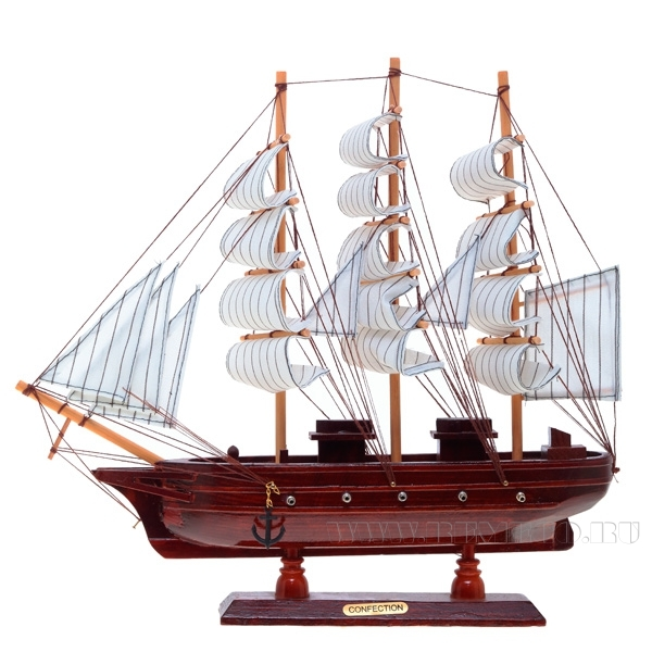 Изделие декоративное Корабль Mayflower, L40 W6 H34 см оптом