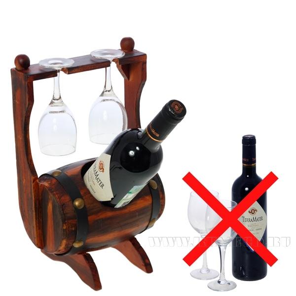 Подставка для вина из дерева своими руками