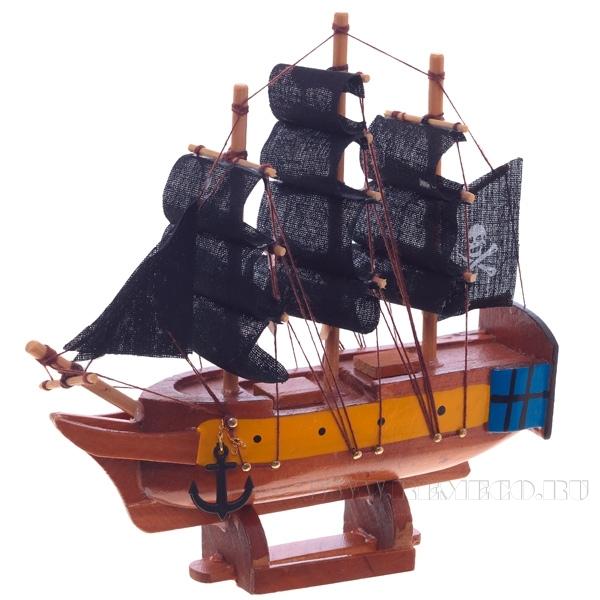 Изделие декоративное Корабль, L 16см оптом