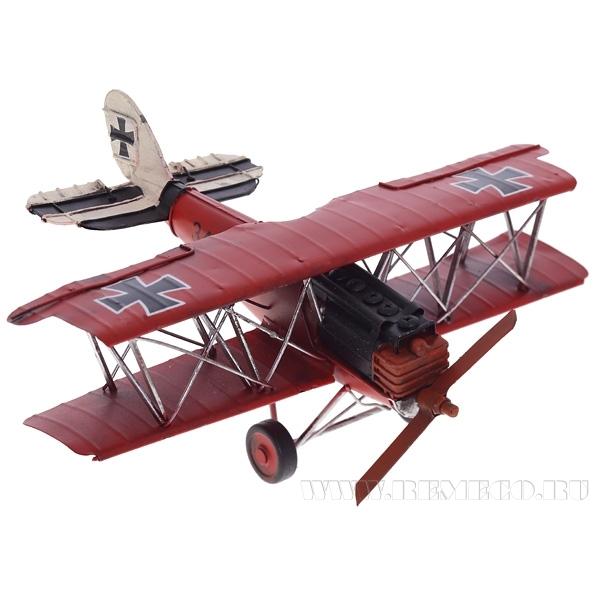 Изделие декоративное Самолет, L32 W31 H11 см оптом
