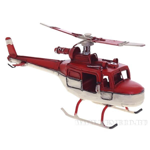 Изделие декоративное Вертолет, L21 W6 H9 см оптом