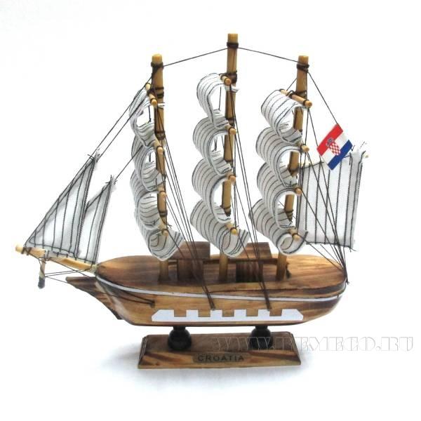 Изделие декоративное Корабль Сroatia,L20 W4 H19см оптом