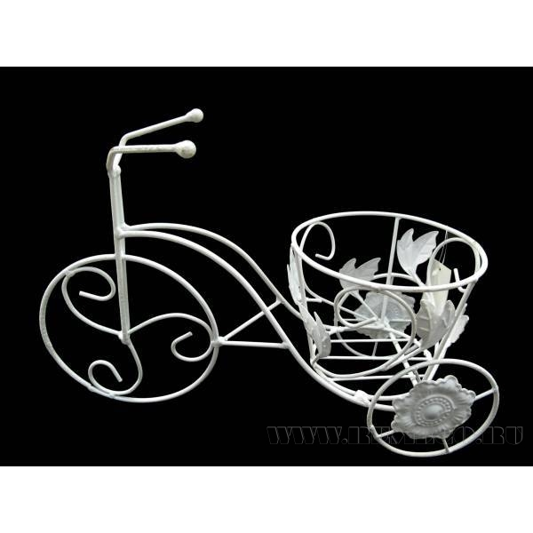 Кашпо Велосипед(без упаковки), L36W13H24см оптом