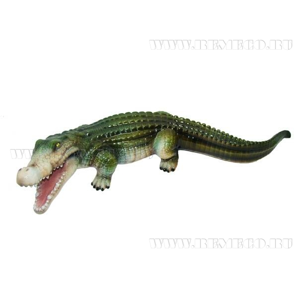 Фигура декоративная садоваяКрокодил №2, L74 W29H17см оптом