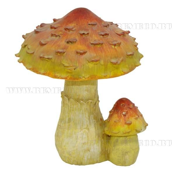 Фигура декоративная садоваяПоганкаL13W13H18 см оптом