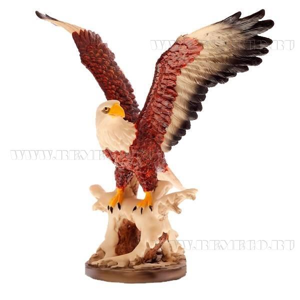 Фигурка декоративная Орел, L50 W30 H45см оптом