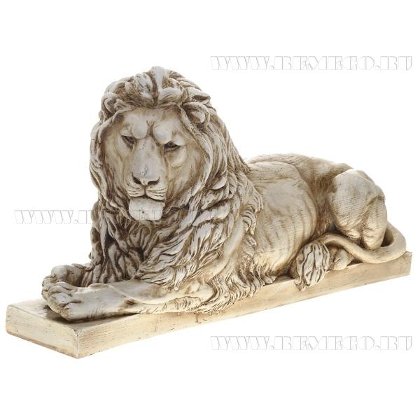 Фигура декоративная Лев(цвет антик) оптом