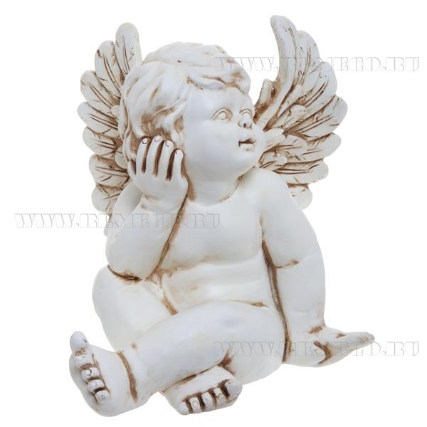 Фигура декоративная Ангел L24W25H28 см оптом