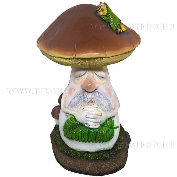 Фигура декоративная Боровик с куколкой оптом
