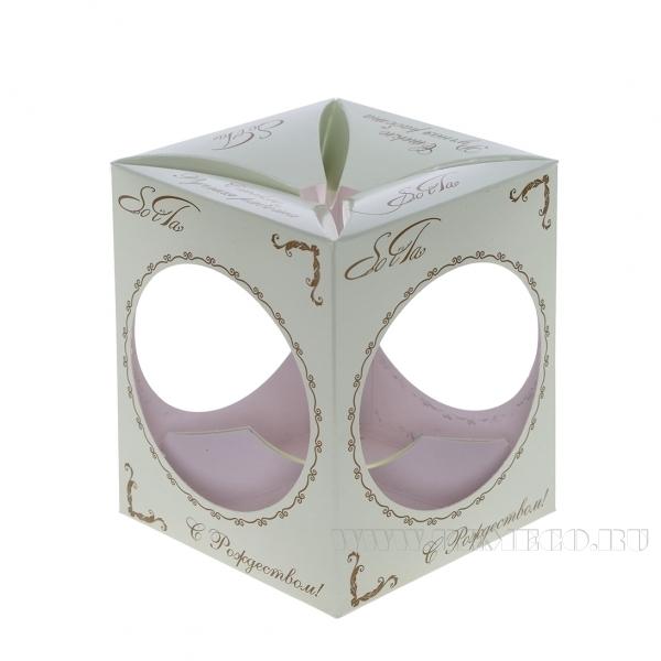 Подарочная коробка 9,6х9,6х11,6 см оптом