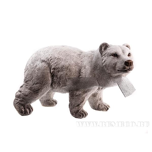 Фигурка декоративная Медведь, 19.5х6х21.5 см оптом