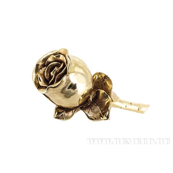 Фигурка декоративная Роза, 13х6.5х9 см, (без инд.упаковки) оптом