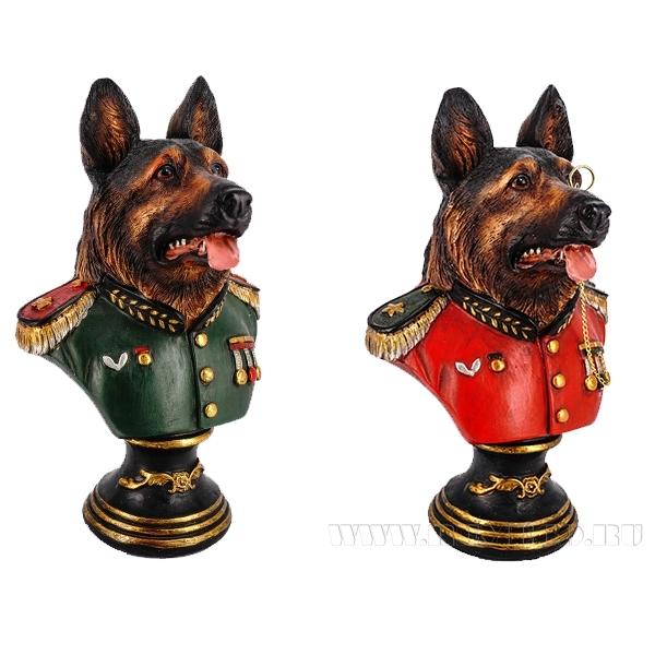 Фигурка декоративная Собака, 12.5x11x25см, 2в. оптом