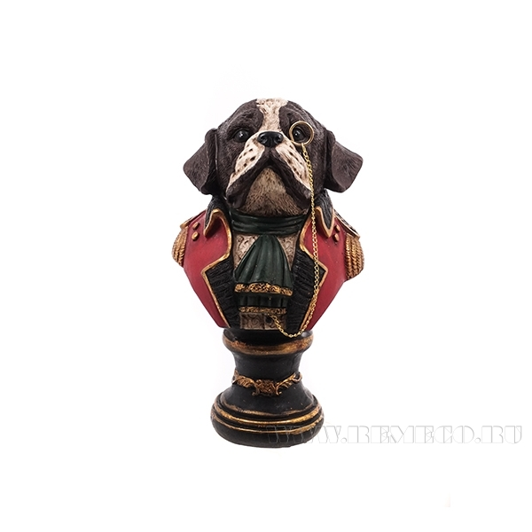 Фигурка декоративная Собака, 9x10x17см оптом