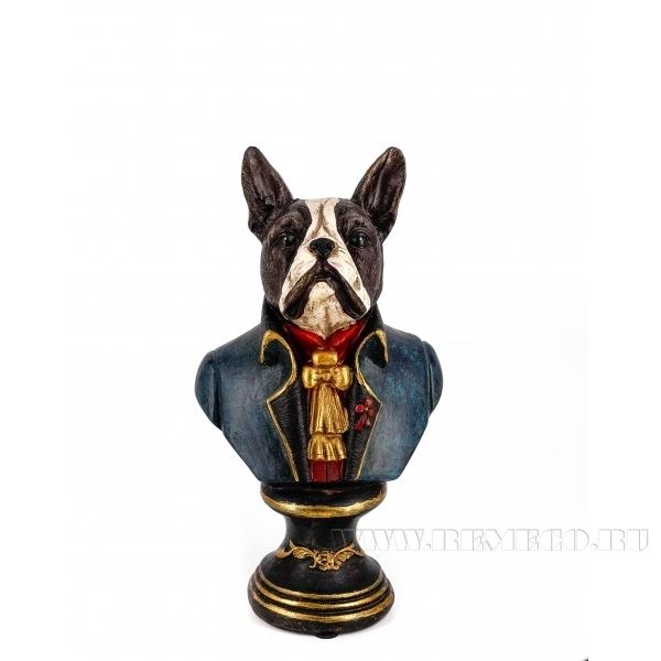 Фигурка декоративная Собака, 12.5x11x20.5см оптом