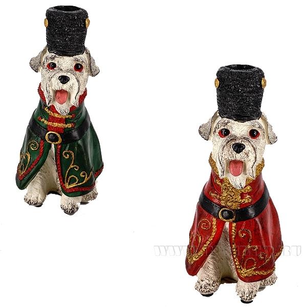 Фигурка декоративная Собака, 11x8.5x20см, 2в. оптом