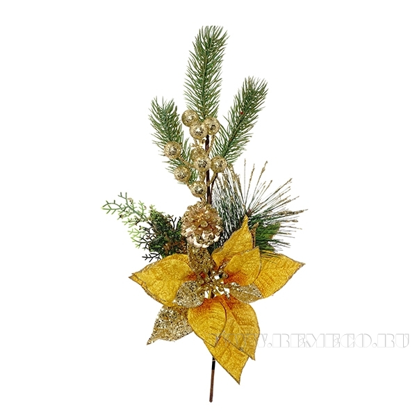 Декоративное украшение Цветок, 50x21 см (без инд.упаковки) оптом