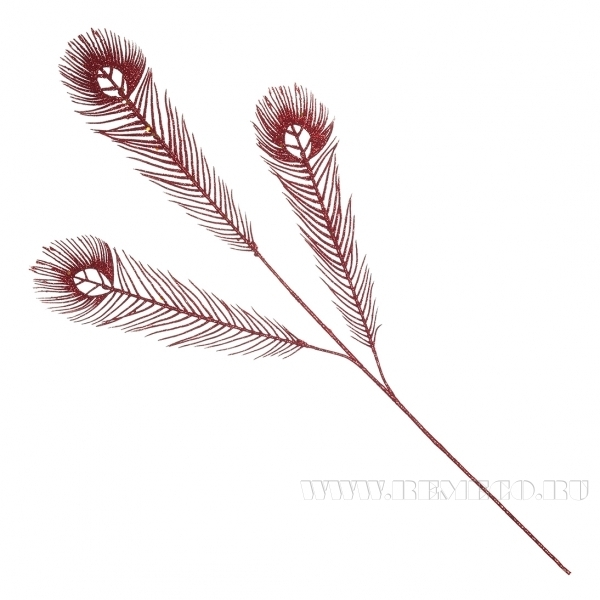 Декоративное украшение Цветок, 74x15 см (без инд.упаковки) оптом