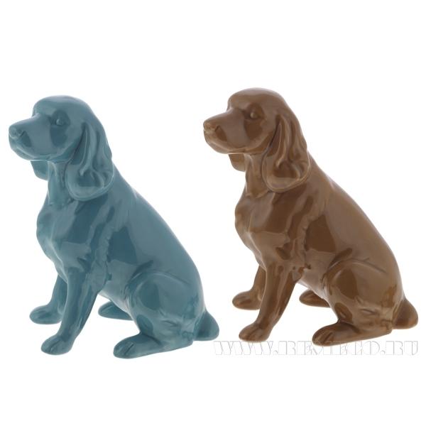 Фигурка декоративная Собака, 15x9x18.5 см, 2в. оптом
