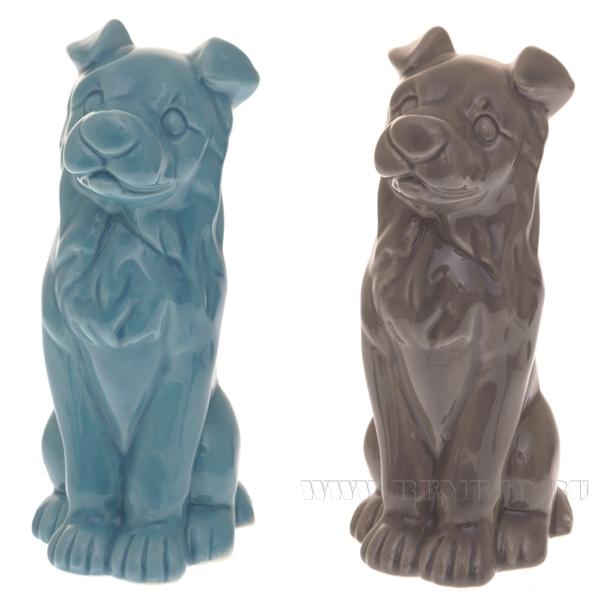 Фигурка декоративная Собака, 6.1x4.5x11.2 см, 2в. (без инд.упаковки) оптом