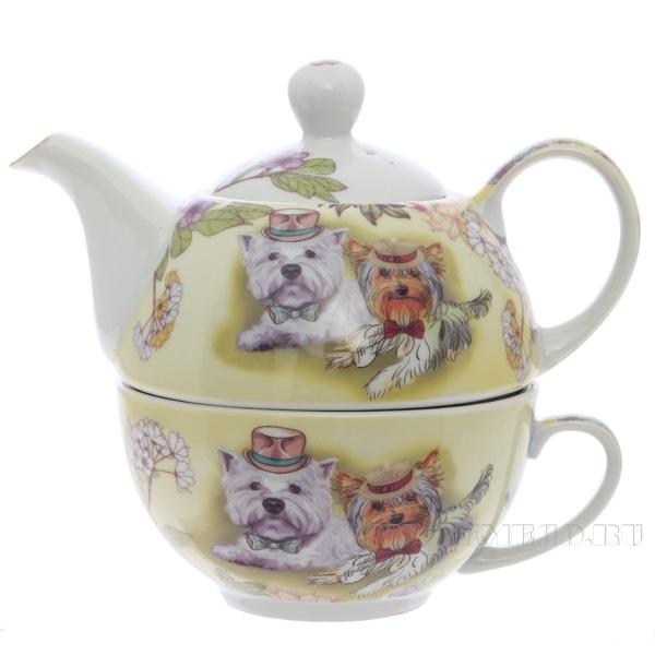 Чайник с чашкой, 430мл, 250мл оптом