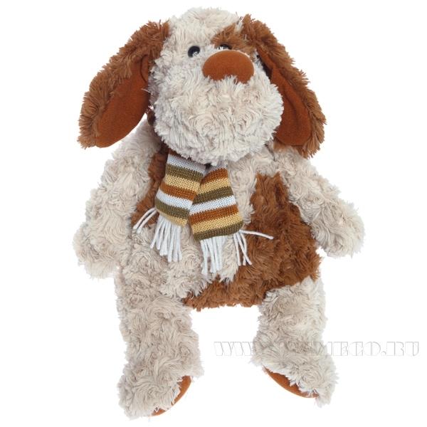 Игрушка мягконабивная Собака, H34см оптом