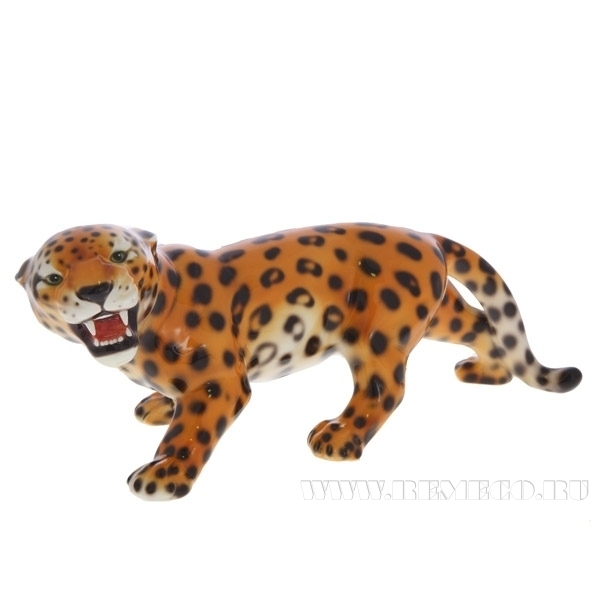 Фигурка декоративная Леопард, 16х43 см оптом