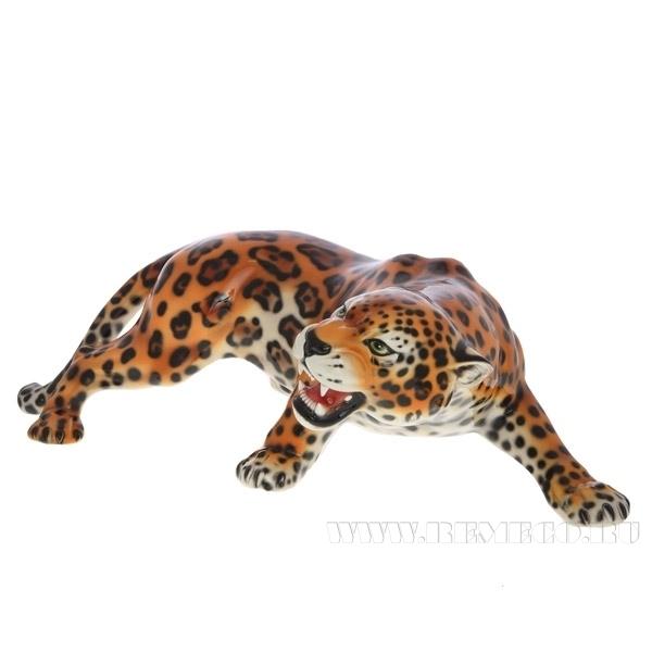 Фигурка декоративная Ягуар, 29х90 см оптом