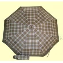 Зонт 23 цв.клетка, полный автомат, Зеленая клетка (крупная)