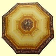 Зонт 23 цв., полный автомат,  этническая рыжая