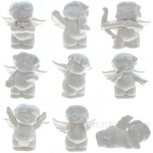 Фигурка декоративная Ангел-купидон, H 9см, 9в