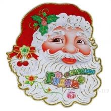 Новогоднее панно Санта, L43 W33 см