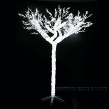 Электрогирлянды, светящиеся деревья и фигуры