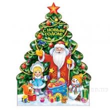 Изделие из картона Панно Новогоднее, 25х31см