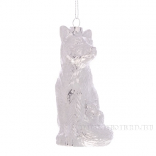 Новогоднее украшение Волк, L6 W5 H12 см