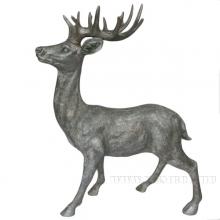 Фигурка декоративная Северный олень, 57,5x27x81 см