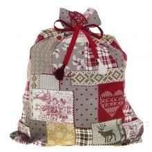 Мешок для подарков «Зимний пейзаж», размер 90*70см