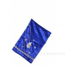 Мешок для подарков 35*24см (синий бархат) ()