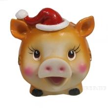 Свинья-копилка символ года 2019