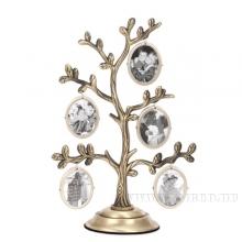 Фоторамка Семейное дерево на 5 фото, H 21 см