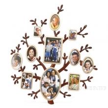 Фоторамка Семейное дерево на 11 фото, H 43 см