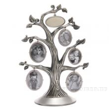 Фоторамка Семейное дерево на 5 фото, Н 33 см